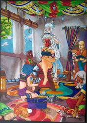 Preparation a la ceremonie by dragathe76