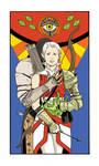 Lavellan Tarot Card by shortfury