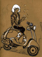 Vespa by shortfury