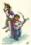 Miguel and Hector by Ayemae