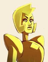 Yellow Diamond by M3KO