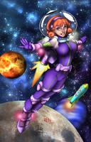 Daphne Blake in Space    3/21/17 by REN1972