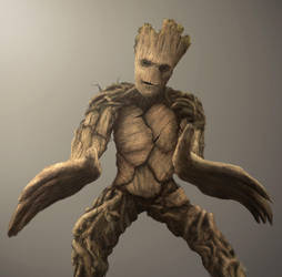 Groot Pose by drivenimage