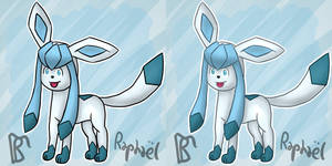 Glaceon by Sheinxy