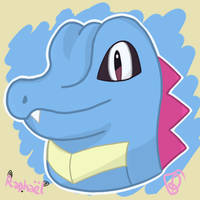 Totodile by Sheinxy
