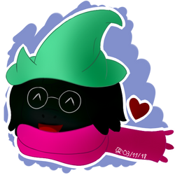 [Deltarune][Headshot] Ralsei The Cutest Fluffy Boy by Sheinxy