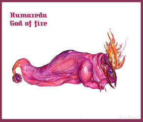 Humareda God of Fire by ColmilloSombra