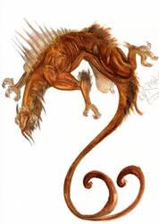 Watercolor Dragon 1 by ColmilloSombra