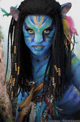 Neytiri AVATAR (Head Shot) by Bl4ckVanill4