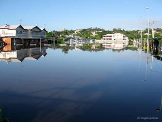 Windsor Bowls Club flooding by jane-mirage