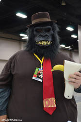 Donkey kong cosplay. 1st time. by HavocAngel03