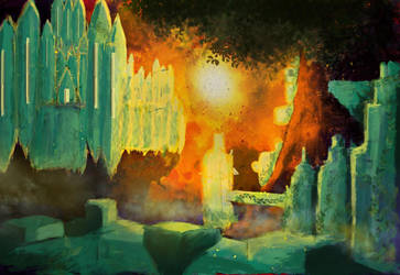 Emerald Castle by HavocAngel03