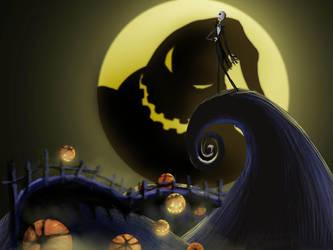 Nightmare Before Christmas by HavocAngel03