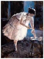 ballerina III by szklanytygrys