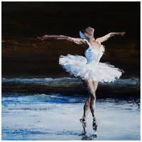 Dance of Swan 04 by szklanytygrys