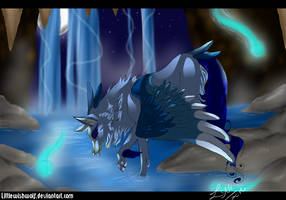 River of youth by LittleWishWolf