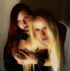 Arydaea + Raven 2 by Nightmare666Maiden