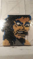 Mini Perler Bead Kirk Hammett by Enderpony626