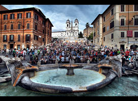 ...Piazza di Spagna...Rome by erhansasmaz