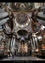 ...St. Nicholas Church...Prague by erhansasmaz