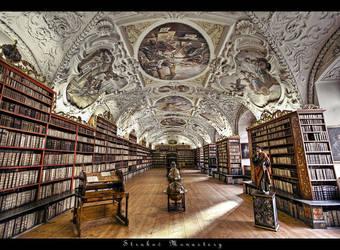 ...Strahov Monastery...Prague by erhansasmaz
