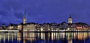 Zurich Panorama by erhansasmaz
