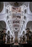 ...St. Thomas Church...Prague by erhansasmaz