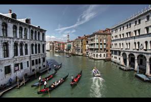 ...Grand Canal...Venice by erhansasmaz