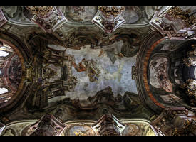 Beautiful Ceiling of St. Nicholas by erhansasmaz