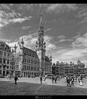 ...Brussels - Grand Place... by erhansasmaz