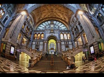 *Antwerpen Centraal* by erhansasmaz