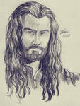 Thorin - sketch by Miruna-Lavinia