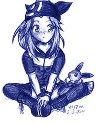 Eevee is my Pokemon by Chiri-Satomi
