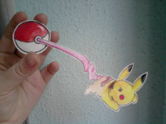 Come here, Pikachu by Chiri-Satomi