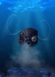 An odd submarine creature by emi64