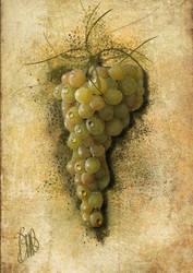 Bunh of white grape.  by emi64