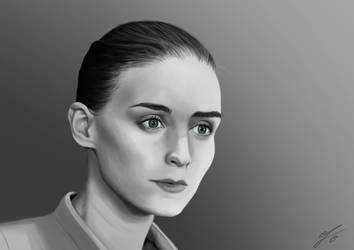 Rooney Mara Portrait by Jacori98