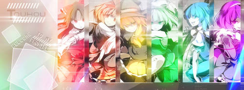 Touhou Timeline Cover by SeventhTale