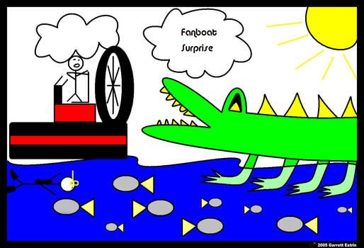 Fanboat Surprise by Zeplica