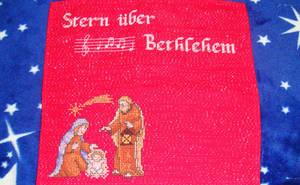 Christmas carol placemat cross stitch No. 5 by Anim-Soul