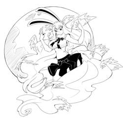 Carrot Sulong Lineart by DragoonTequila