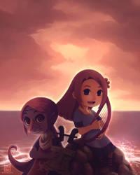 Marin and Medli by Mischavie