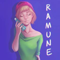 Ramune Girl by Mischavie