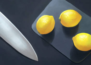 Lemons by Mischavie