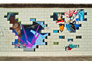 pink floyd the wall by InV4d3r