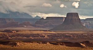 canyon landscape by InV4d3r