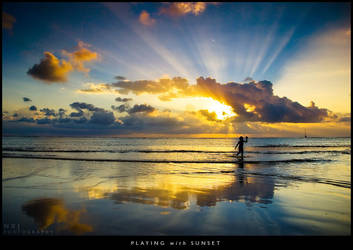 Playing with Sunset ii by wakz