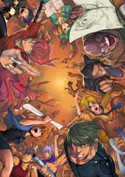 comic war by harliskudo
