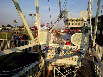 Ferris Wheel :3 by ciel-orageux