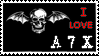 avenged sevenfold stamp by a7xstamp1